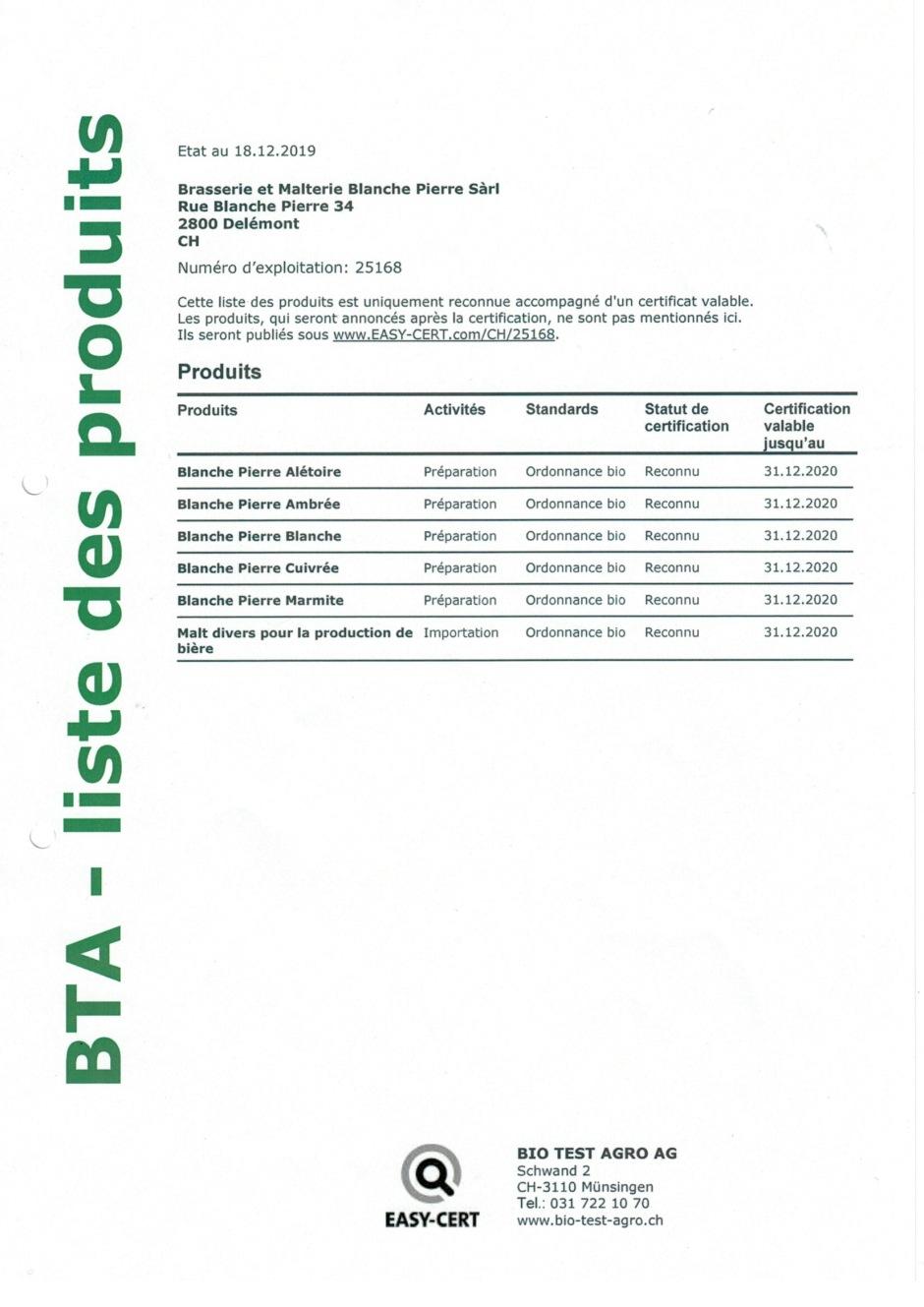 BTA_certificat